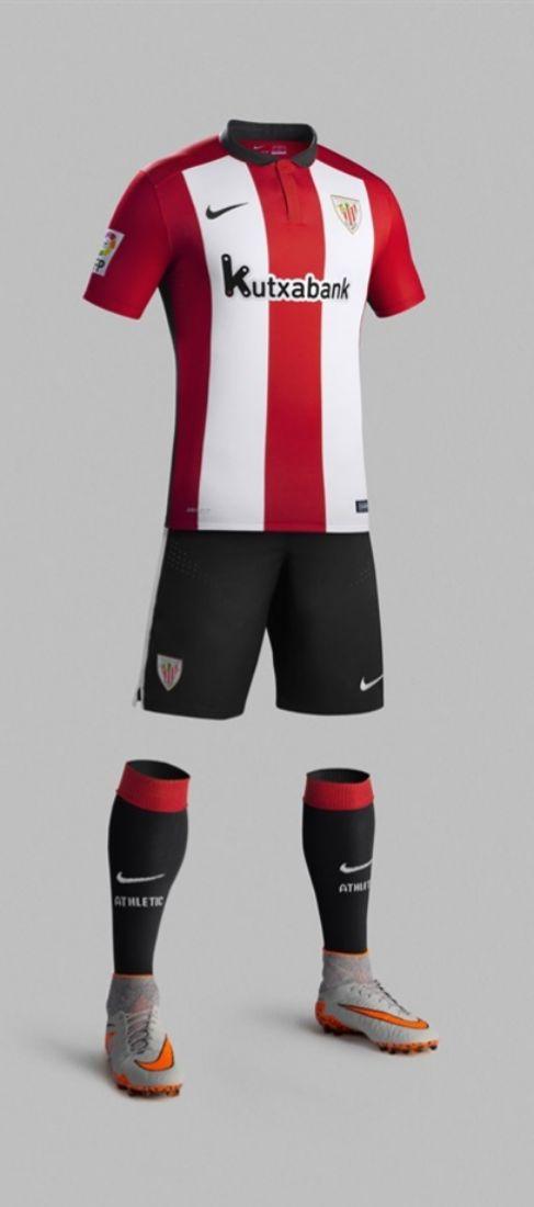La nueva camiseta de Athletic tendrá la franjas rojiblancas más anchas  32535c3856a7f