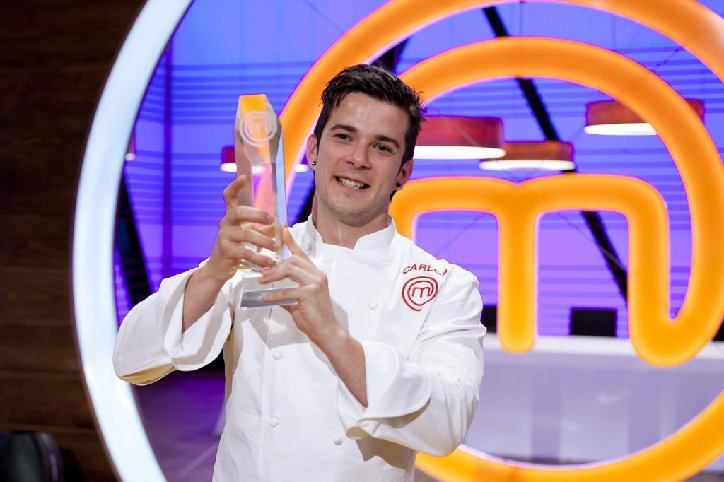 Carlos, ganador de Masterchef 2015
