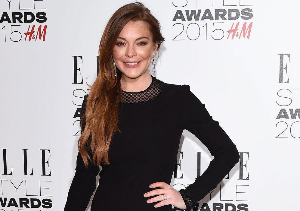 Lindsay Lohan empezó su carrera como modelo infantil y realizando...