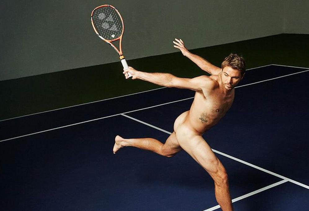 El tenista Stan Wawrinka se ha desnudado para la revista deportiva...