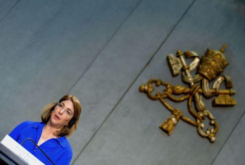 La activista canadiense Naomi Klein, en el Vaticano.