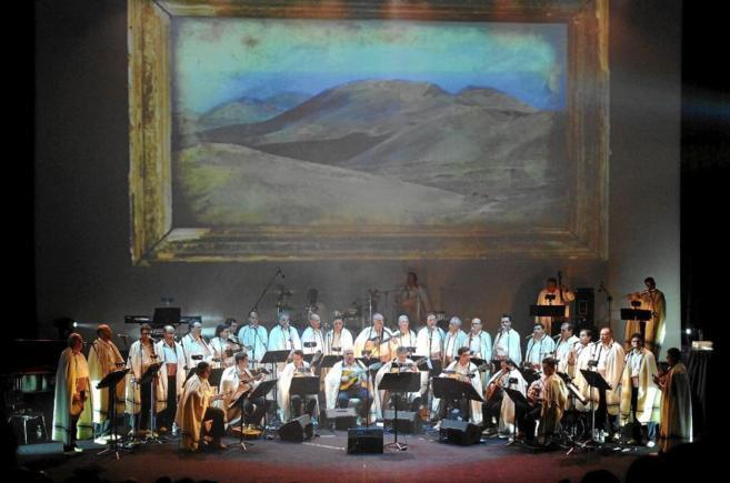 Concierto de Los Sabandeños en Valladolid.