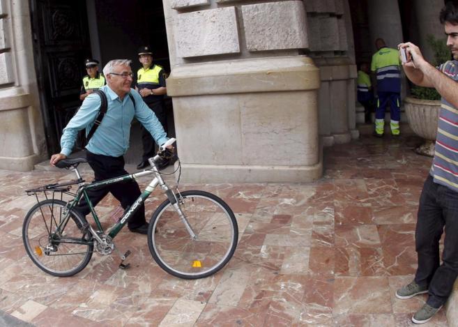 El alcalde de Valencia, Joan Ribó.