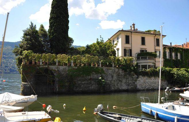 Villa Oleandra, la casa de Clooney en el Lago Como.