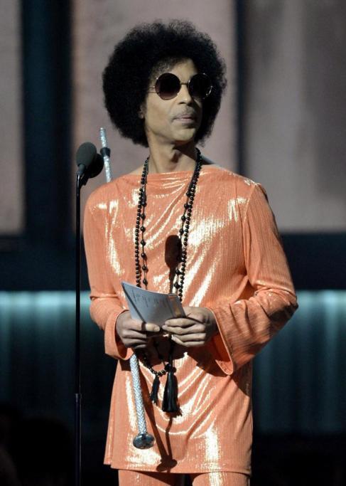 El músico de funk, Prince.