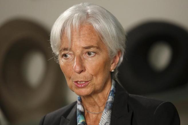 La directora del FMI, Christine Lagarde, en Washington