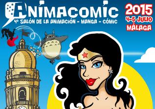 Cartel de la cuarta edición de Animacomic.