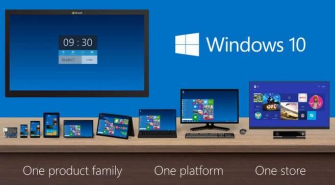 El nuevo sistema operativo podrá usarse en todos los dispositivos...