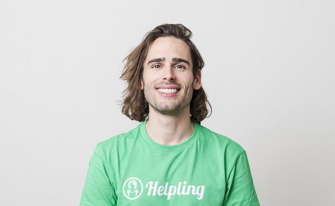 El socio cofundador de la 'startup' alemana Helpling, Philip...