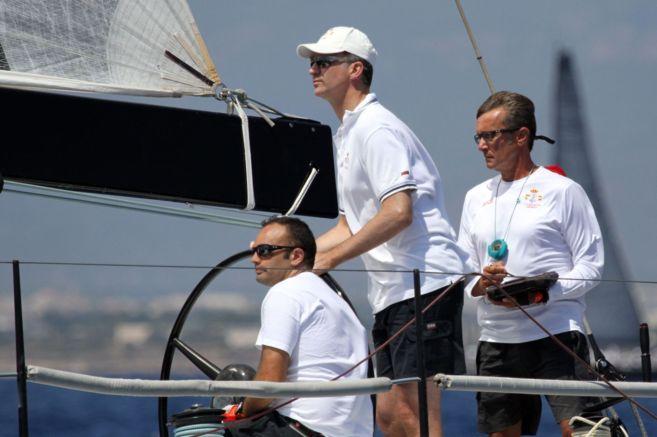 Don Felipe participó el verano pasado en dos jornadas de la Copa del...