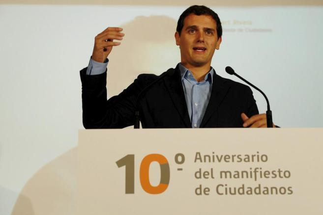 Albert Rivera optará a la presidencia del Gobierno