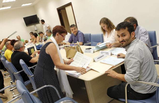 El conseller Vicent  Marzà, en la reunión de la Mesa Sectorial.