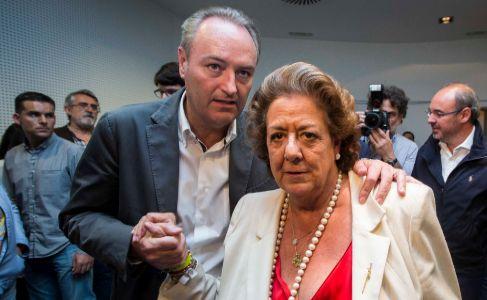 Alberto Fabra y Rita Barberá, la noche de las últimas autonómicas y...