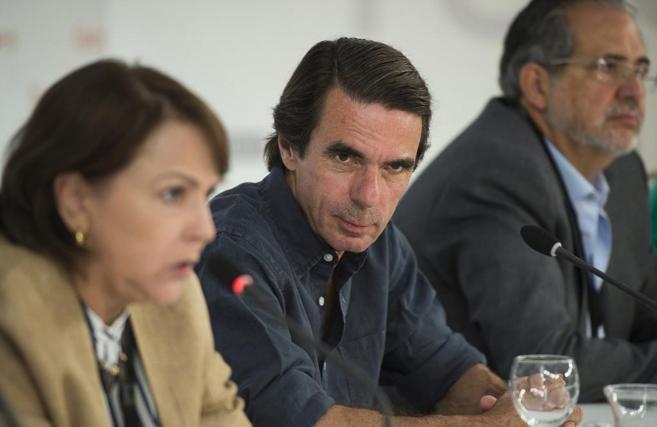 José María Aznar en la conferencia 'Democracia, populismo,...