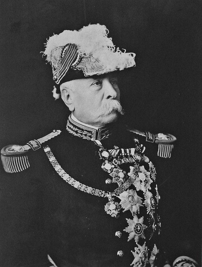 Foto de archivo del dictador mexicano José de la Cruz Porfirio Díaz...