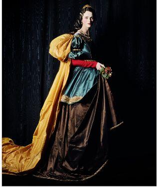 'Carmen con la Santa Isabel de Zurbarán'
