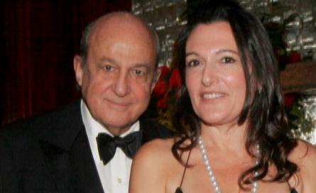 Plácido Arango y Cristina Iglesias, en una gala de Nueva York en...