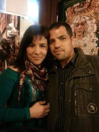 Toñi Rabadán, y su marido, Carlos Soler.