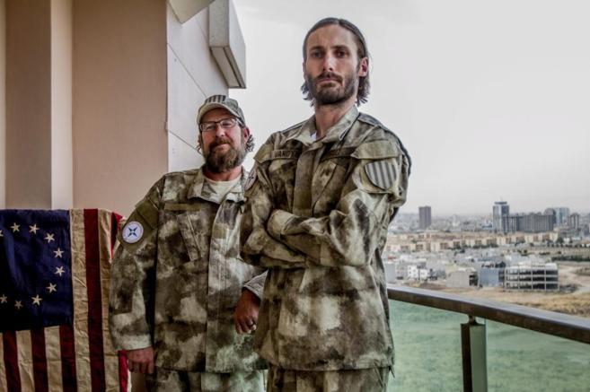 Matthew VanDyke, que entrena a soldados cristianos para enfrentarse al...