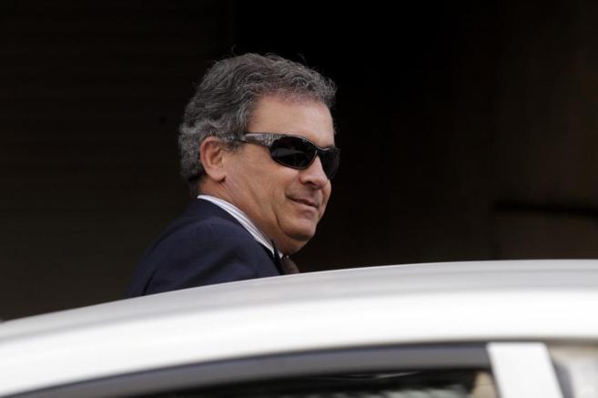 Jordi Pujol Ferrusola, en su salida de la Audiencia Nacional.