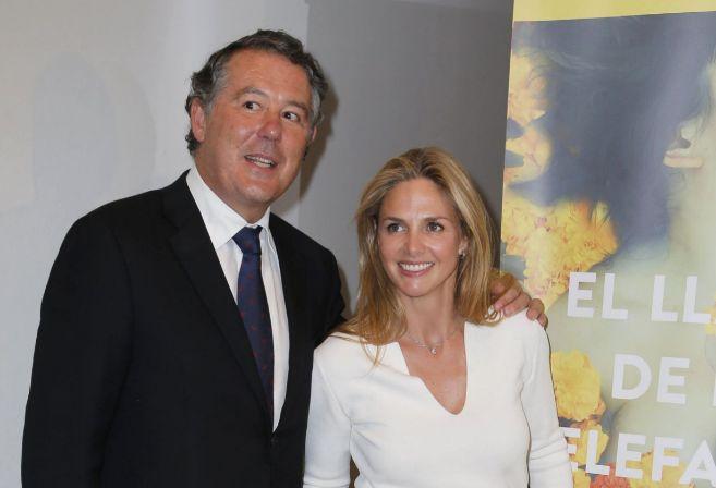 Jose María Michavila y Genoveva Casanova en la presentación del...