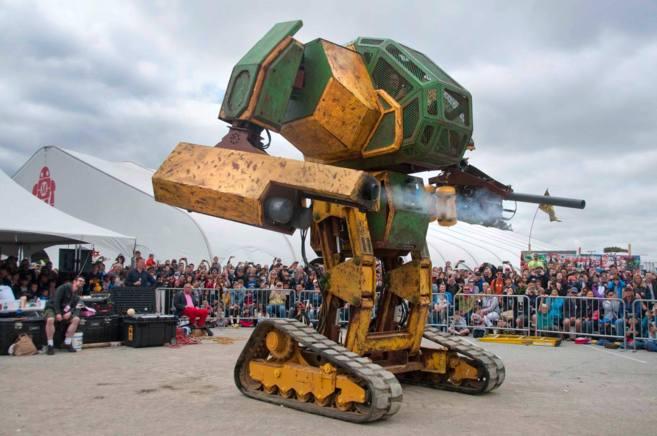 Uno de los prototipos de robots de la empresa americana que se batirá...