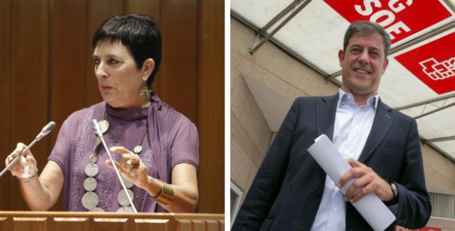 Mercedes Gallizo y José Ramón Gómez Besteiro