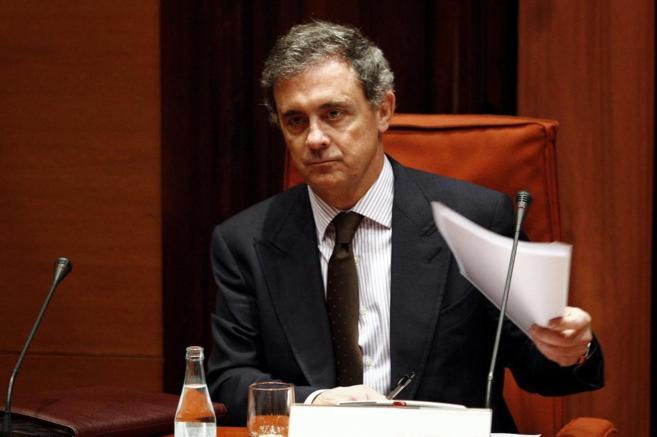 Jordi Pujol Ferrusola, en la comisión de investigación del...