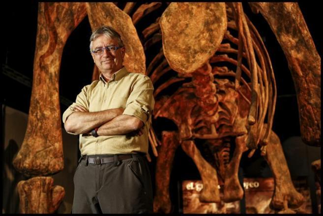 Luis Alcalá, director gerente de la Fundación Dinópolis, en el...