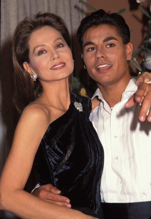 Isabel Preysler y su hijo, Julio Iglesias Jr.