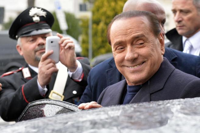 El ex primer ministro italiano Silvio Berlusconi, en 2014.