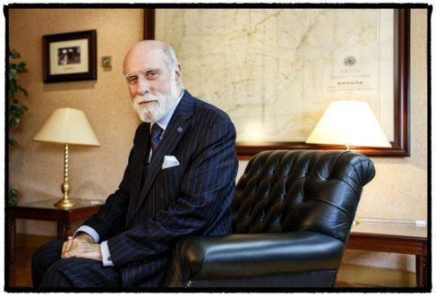 Vinton G. Cerf en la UPM.
