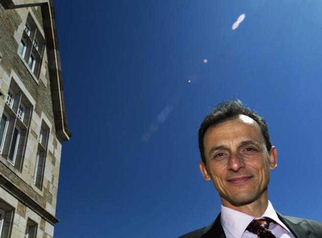 El austronauta de la Agencia Espacial Europea y premio Principe de...