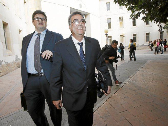 Enrique Ortiz declara en los juzgados por el caso Rabasa