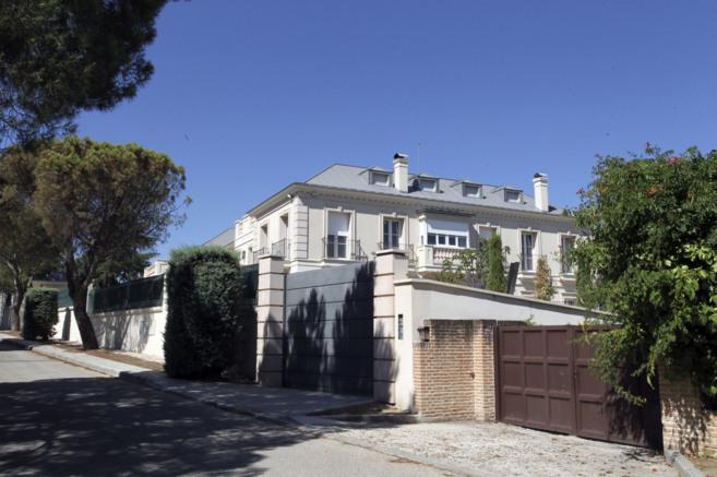 Imagen de la supuesta casa que Corinna habría adquirido en la...