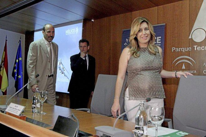 La presidenta de la Junta, Susana Díaz, en la presentación del...