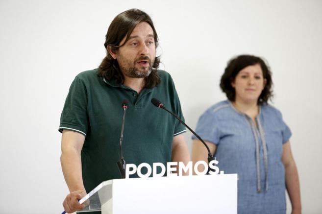 Rafael Mayoral, secretario de Sociedad Civil de Podemos.