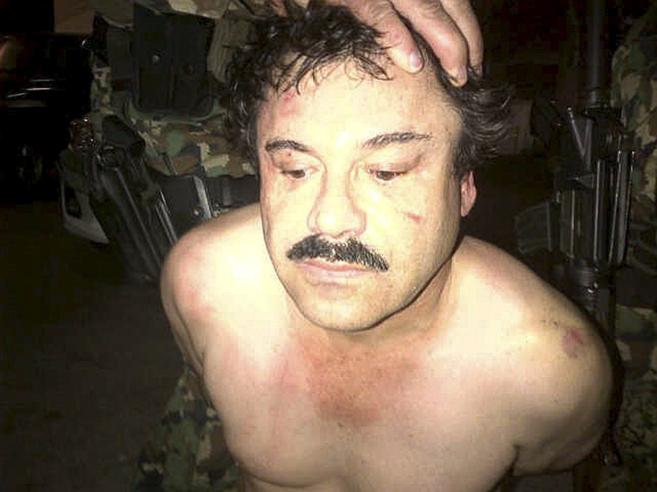 El conocido narcotraficante mexicano, Joaquín 'El Chapo'...