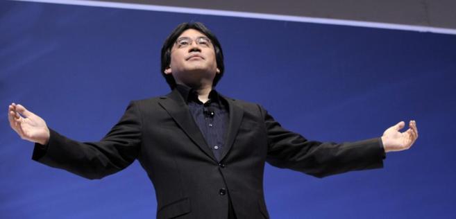 Satoru Iwata.