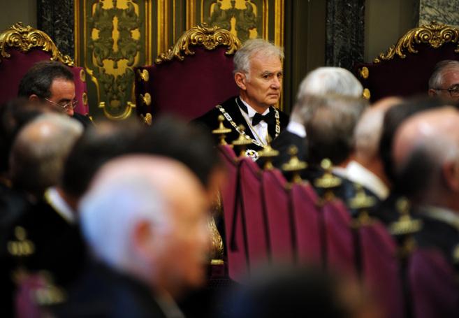 José Manuel Sieira, en su toma de posesión como presidente de la...