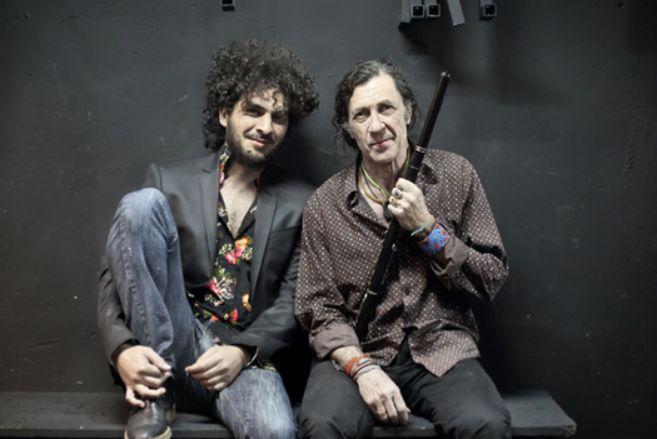 De izquierda a derecha, Lin Cortés y Jorge Pardo.