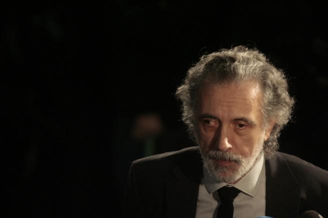 Fernando Trueba en los premios de la Academia de las Artes, 2014.