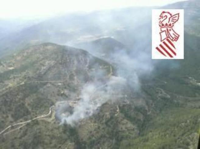 Primeras imágenes que llegan del incendio de Villahermosa.