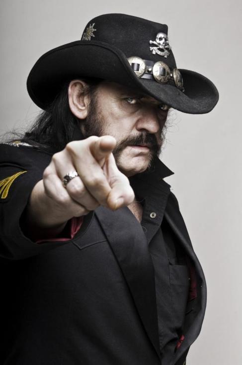 Lemmy Kilmister, en un retrato promocional.