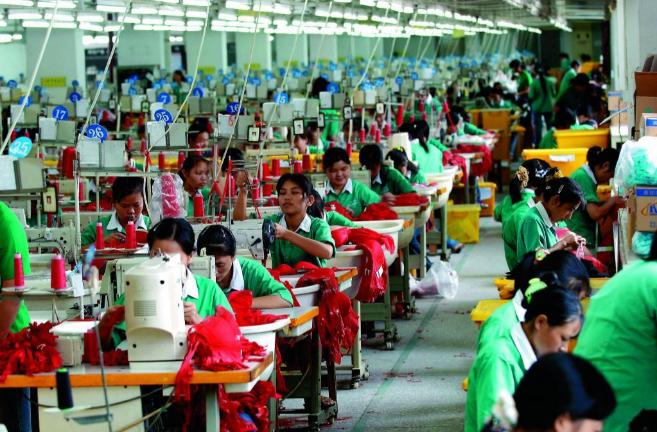 Una de las fábrica de ropa interior en China. d493cb2ef0b1