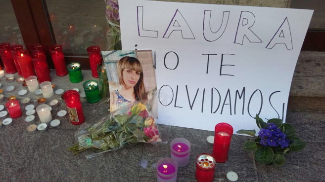 Recuerdo a las puertas del comercio en Santa Cruz de La Palma donde la...