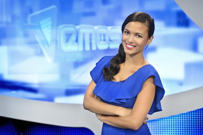 La actriz y presentadora Elisa Mouliaá.
