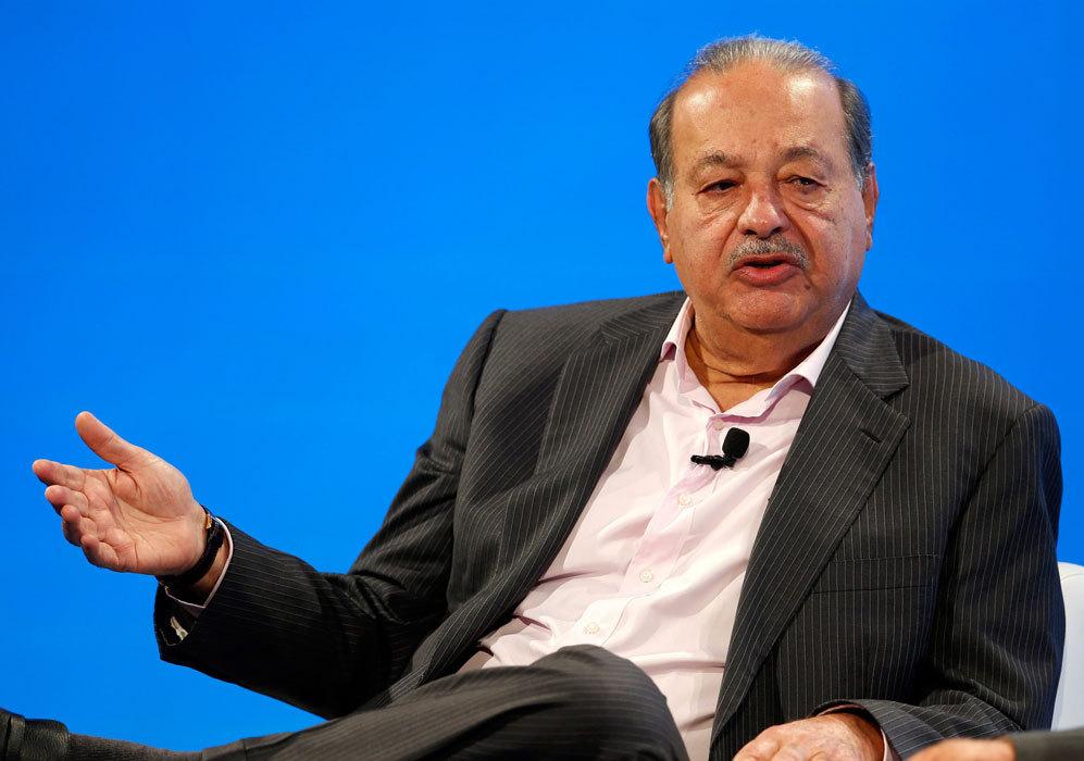 Carlos Slim, México. Empresario y el segundo hombre más rico del...