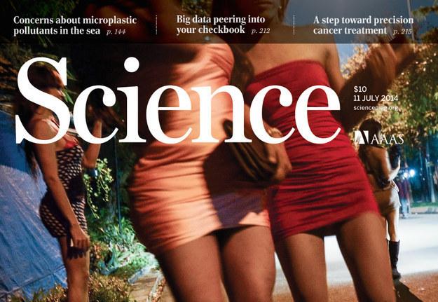 Polémica portada de la revista Science.
