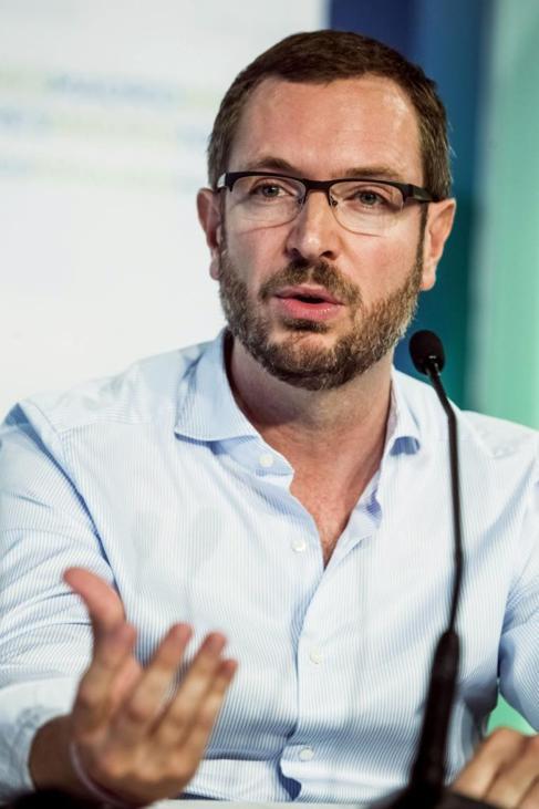 Javier Maroto, en el campus de verano de NNGG.